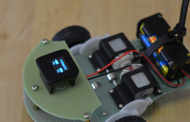 Cool KickStarter, Chip Sized Arduino with OLED Display